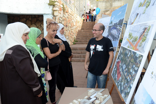 סטודנטים מהפקולטה לארכיטקטורה ובינוי ערים בטכניון הציגו הצעות להתחדשות שכונת חליסה בחיפה