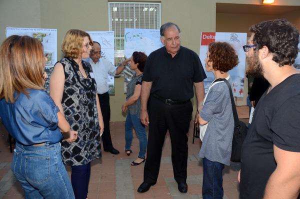 הסטודנטים נפגשו עם ראש העיר חיפה יונה יהב