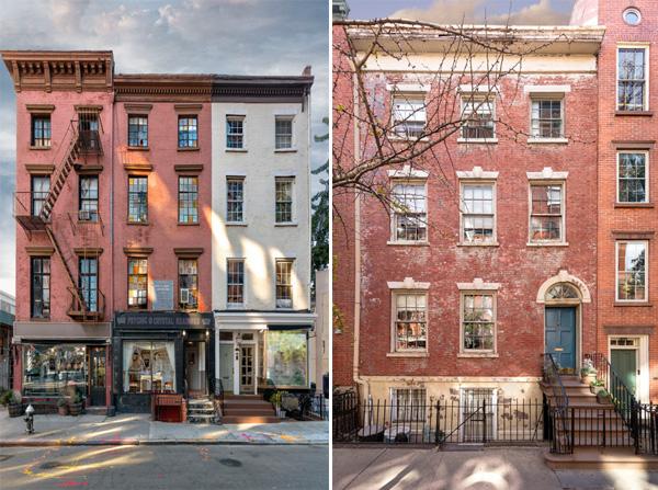 בתי מגורים בעלי אבנים אדמדמות - ניו יורק