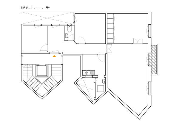 תוכנית הדירה המקורית