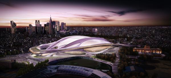 תכנון האצטדיון של זאהה חדיד