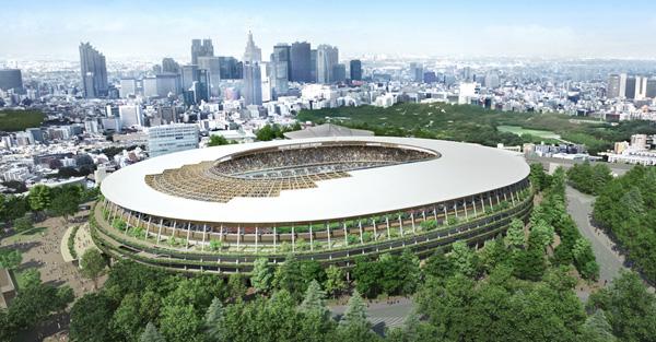 האצדיון האולימפי בתכנונו של Kengo Kuma