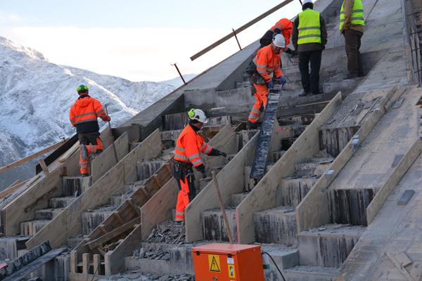 הקמת תצפית נוף הררית בנורווגיה