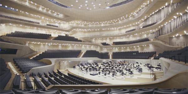 אולם הקונצרטים בבית האופרה החדש של המבורג