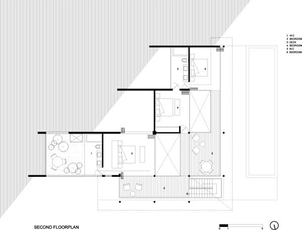 תוכנית הקומה השנייה