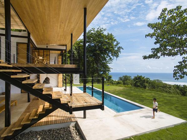בית חוף בקוסטה ריקה