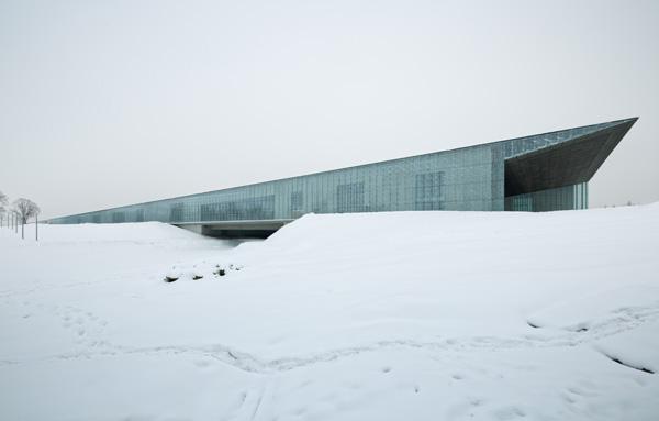 המוזיאון הלואמי של אסטוניה - מבט צד