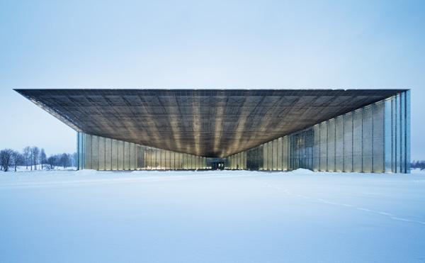 המוזיאון הלואמי של אסטוניה - מבט על הכניסה