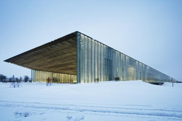 אולם כניסה למוזיאון הלאומי של אסטוניה