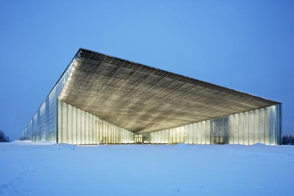 המוזיאון הלאומי של אסטוניה - הכניסה למוזיאון