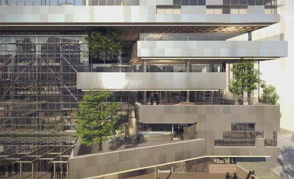 בניין היברידי במלבורן