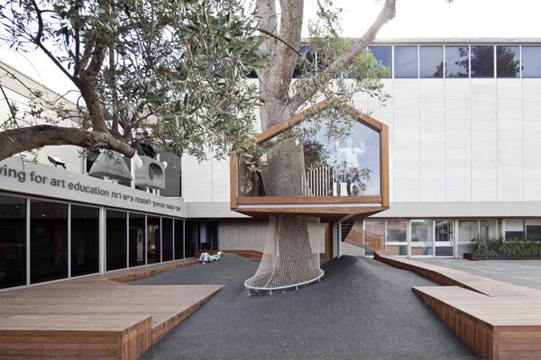 פנטזיה של בית עץ. צילום: עמית גירון