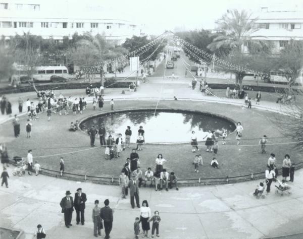 כיכר דיזנגוף בשנת 1959. צילום: פולנדר וילי