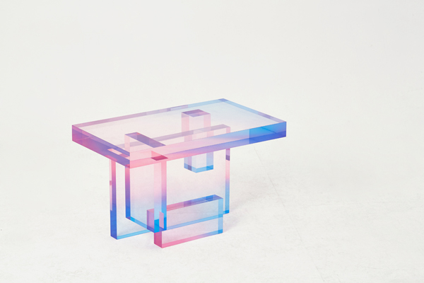Crystal Series_table 04. צילום: Searom Yoon
