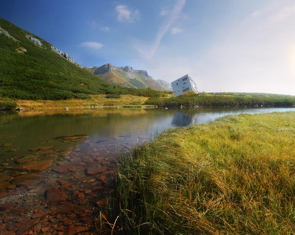 פרויקט KEZMARSKA HUT בהרים הסלובקיים