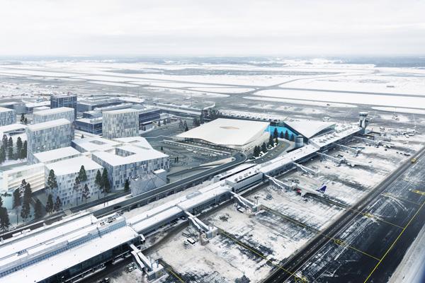 שדה התעופה החדש של הלסינקי - מבט על כללי