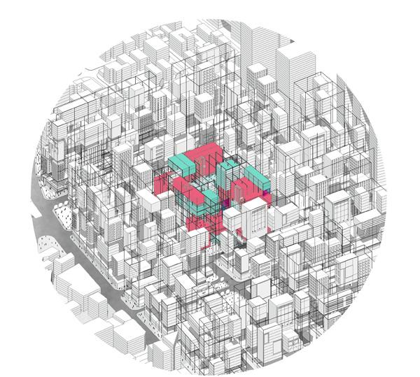 הפרוייקט עוסק במיקומה ומקומה של התעסוקה בשגרת החיים של העיר