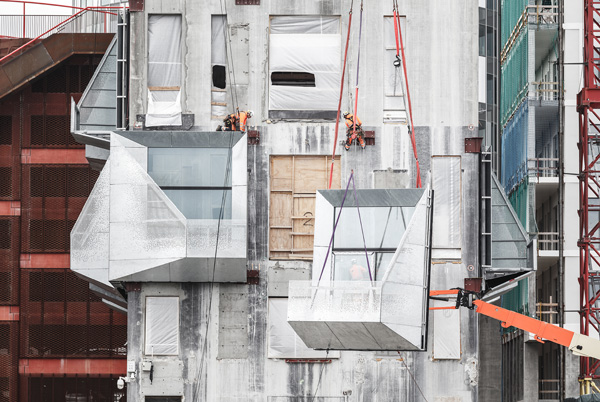 שלבים בתהליכי הבנייה