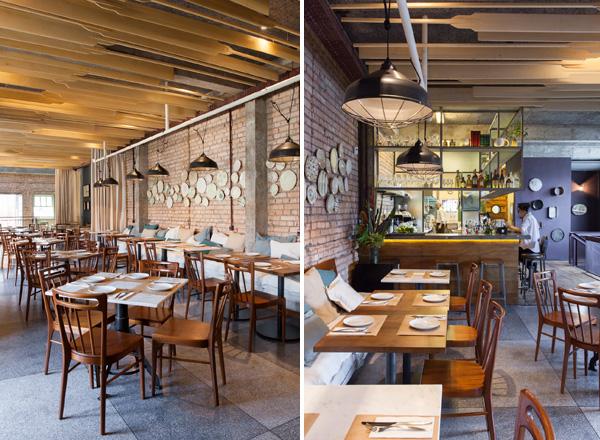 קומת המסעדה בסאו פאולו בתכנון Super Limao