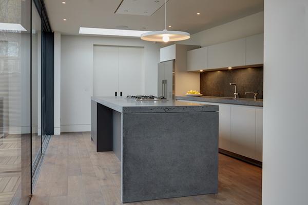 המטבח של בולטהאופ מאפשר בישול עם הפנים לנוף