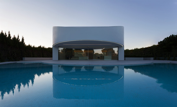 הבית המעוגל בולנסיה, ספרד