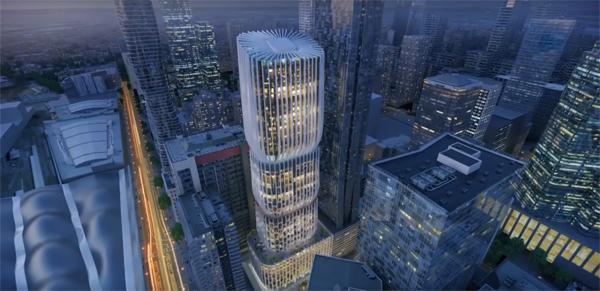 מלון חדש במלבורן בתכנון זאהה חדיד אדריכלים
