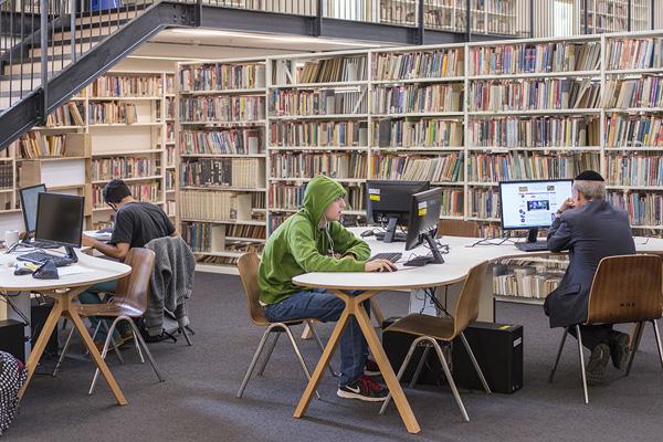 ספרית בית אריאלה. צילום: משה שפירא