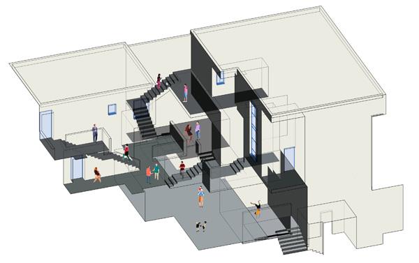 מתוך תערוכת הגמר של בית הספר לארכיטקטורה באריאל