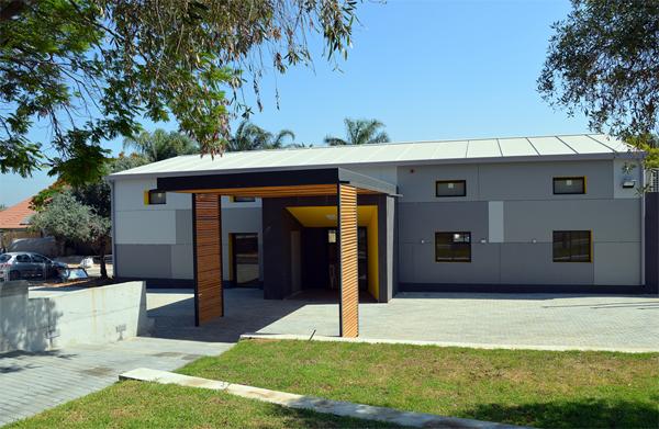 בית העם במושב פתחיה בתכנון אדריכל רוני פרידמן