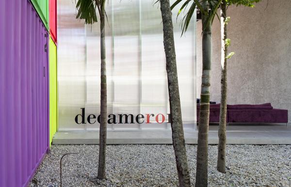 חנות הרהיטים דקמרון בסאו פאולו - בגינה