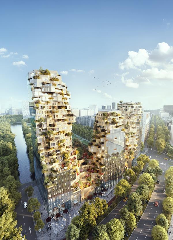 פרויקט מעורב שימושים וירוק באמסטרדם