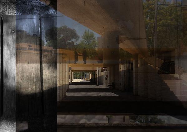 יצירה של יובל אלבק ויעל בן דוד מתוך התערוכה של ויצו חיפה בערד