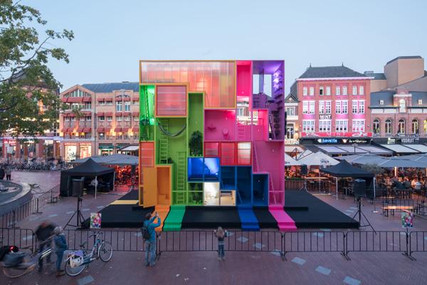 משרד האדריכלים ההולנדי MVRDV אחראי למיצג