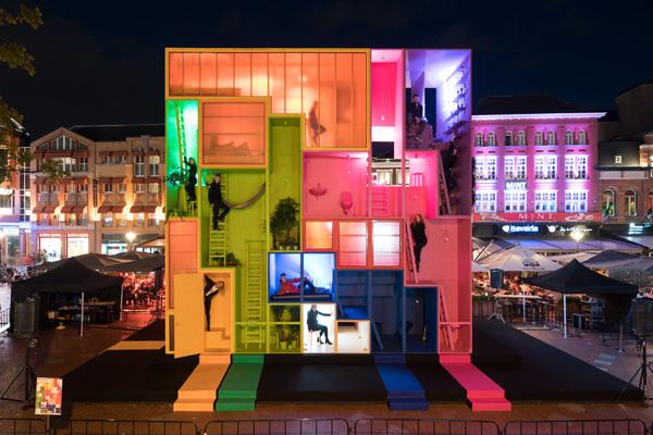מיצג מגורים אינטראקטיבי לכבוד שבוע העיצוב ההולנדי