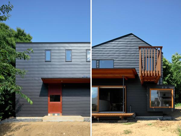 חללי הביניים המקשרים בין הפנים לחוץ - מרפסות וחלונות פנורמיים