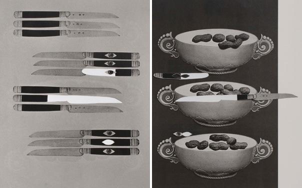 עירית תמרי, ללא כותרת, מתוך הסדרה בעקבות שוש קורמוש, 2017. דף מטופל מתוך הקטלוג שוש קורמוש - מונח דומם, 2001-1987. צילום: מאיה זהבי