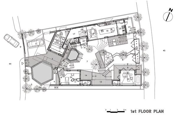 תוכנית הקומה הראשונה
