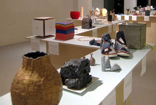 מראה הצבה בתערוכה בין לבין בגלריה פריסקופ, צילום: יחצ