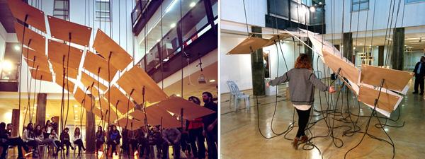 שיתוף פעולה בין המחלקה לארכיטקטורה במרכז האקדמי ויצו חיפה לבין קבוצת המחול