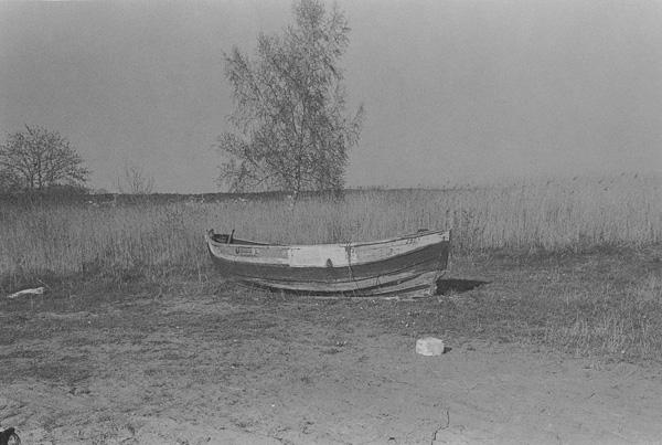סירה, הים הבלטי, פולין. שמחה שירמן, מתוך התערוכה