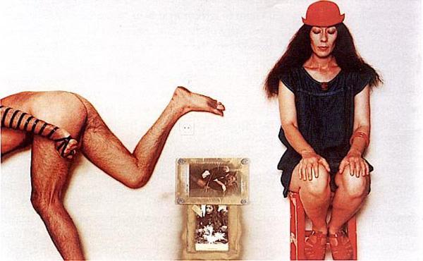 יונה וולך ואורי דותן בתצלום של מיכה קירשנר, מוניטין, 1983