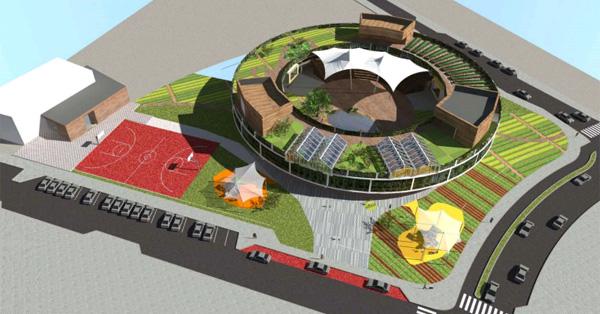 מבט על - פרויקט בית הספר החדשני, ליואי דבוריינסקי אדריכלים