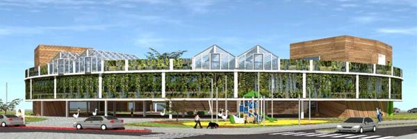 פרויקט בית הספר החדשני מחכה לתקצוב משרד החינוך, ליואי דבוריינסקי אדריכלים