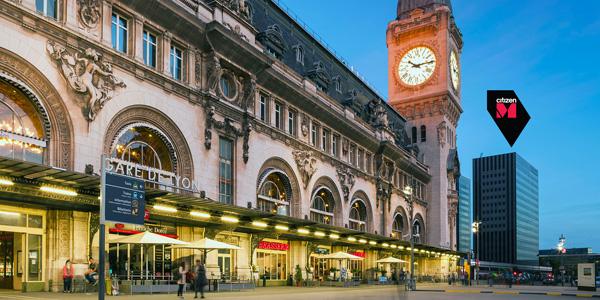 המלון ממוקם ליד תחנת הרכבת Gare de Lyon. צילום: Richard Powers