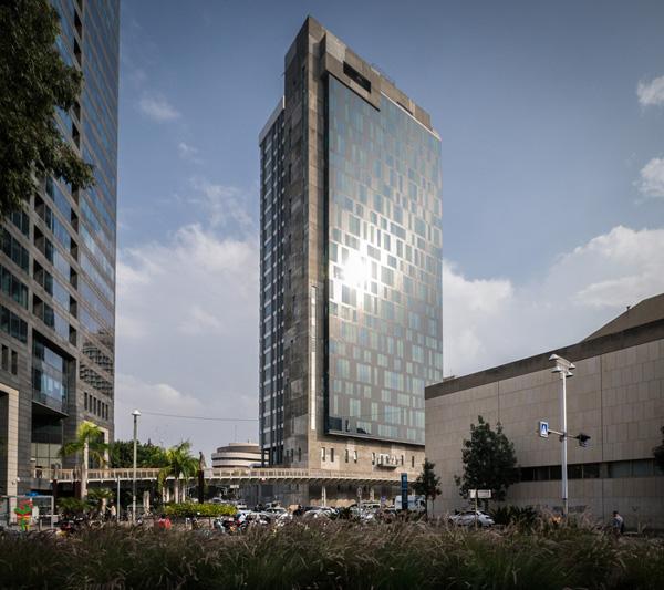 מגדל בית המשפט המחוזי תל אביב-יפו, 2014. באדיבות מרכז רכטר לאדריכלות. צילום: איתי סיקולסקי