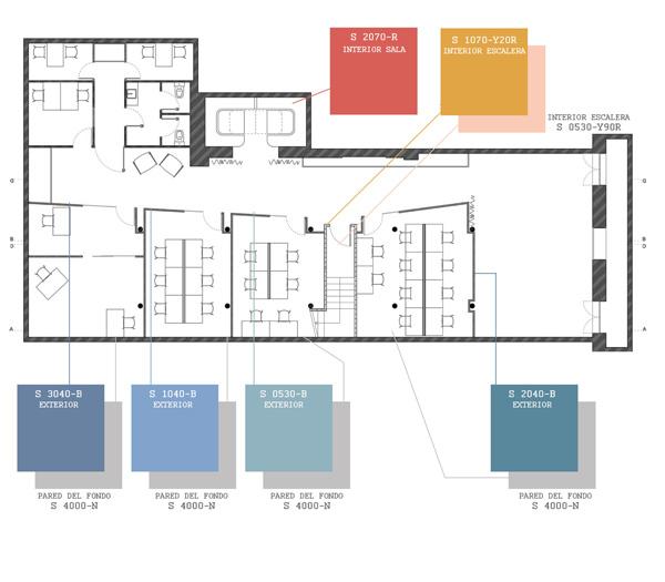 תכנית מפלס המרתף. תכנון ועיצוב: CaSA - Colombo and Serboli Architecture