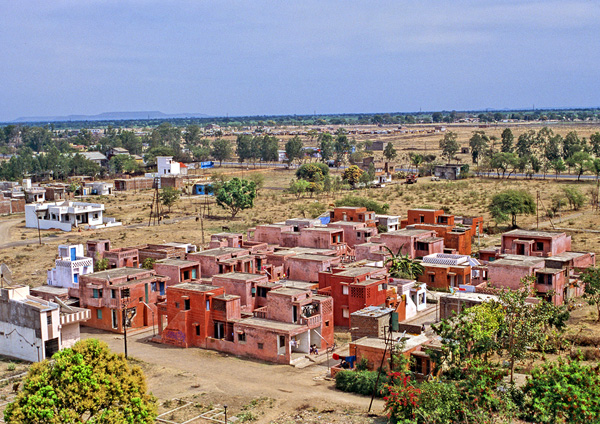 פרויקט דיור בר ההשגה באינדורה, הודו. צילום באדיבות VSF