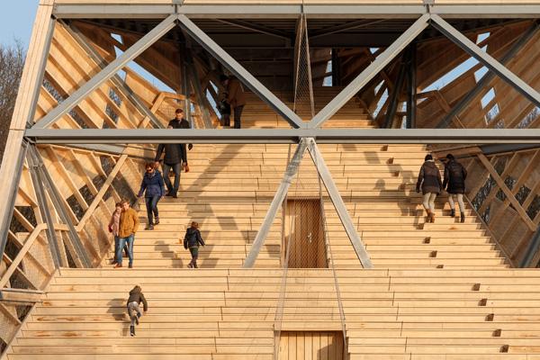 התיאטרון יכול להכיל 225 צופים. צילום: Katja Effting