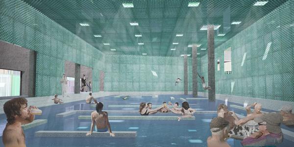 הבריכה כמקום המפגש הציבורי הייחודי לעיר רמלה