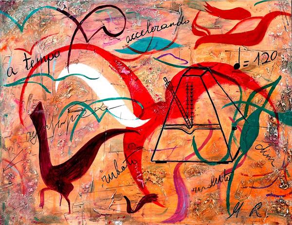 עבודה של מגי רום, מתוך התערוכה